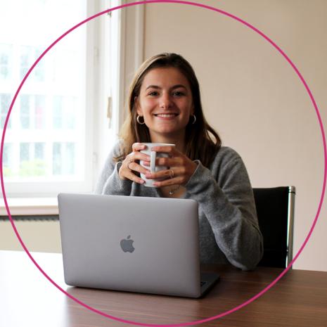 SAM duale Studentin Marketing Lina Menzel